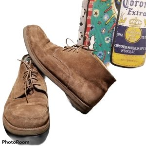 BALLY Brown Suede Chukka Boots (Size 9.5)